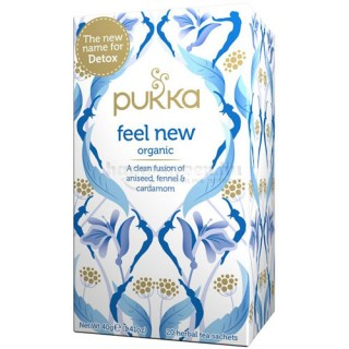 Pukka Feel New Tea, 20 db