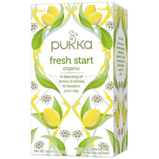 Pukka Fresh Start Tea, 20 db